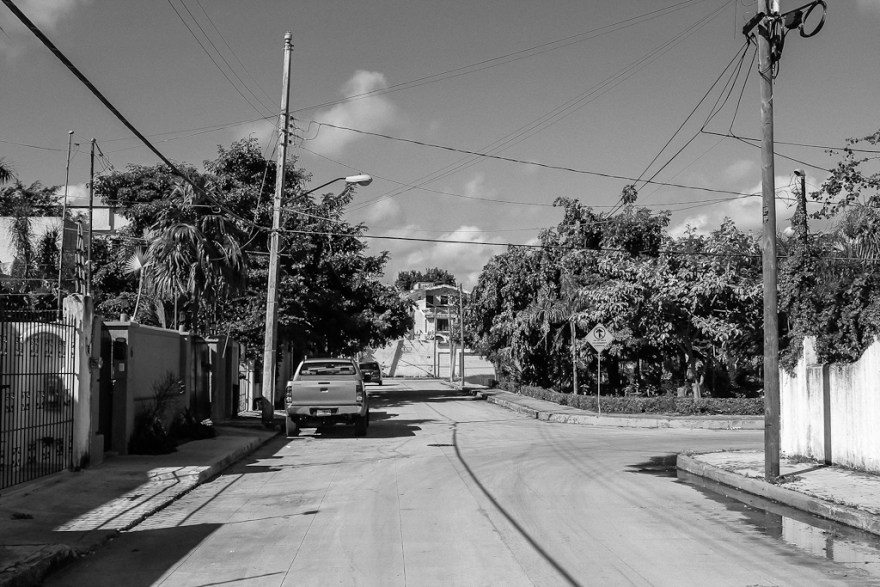 Straße in Cancun, Mexiko 2014 (c) Christoph Pankowski