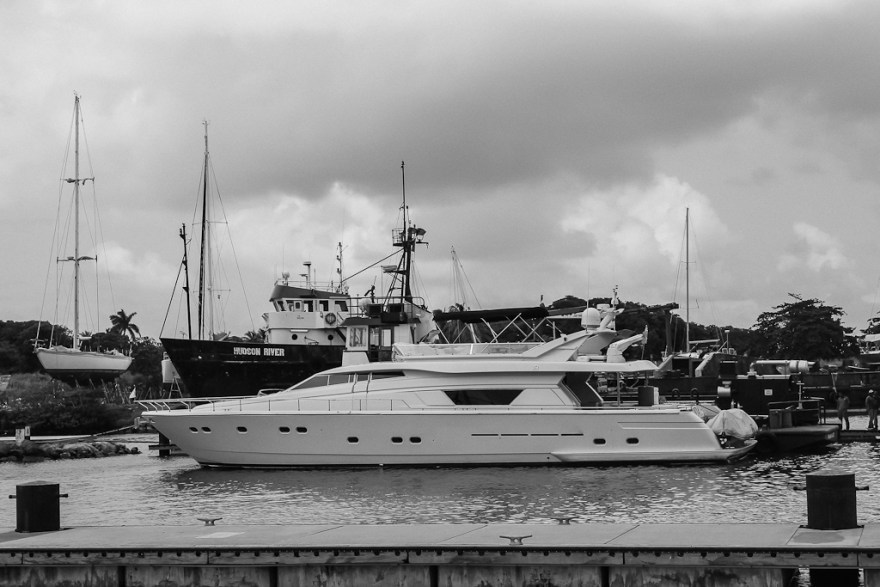 Yacht, Shelter Bay, Panama (c) Veronika C. Dräxler