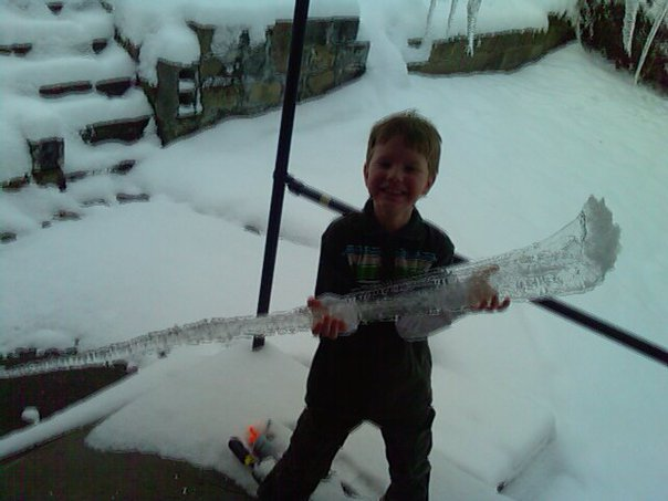 My Son and The Icicle