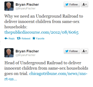 Why is a man who advocates kidnapping children still on the radio?