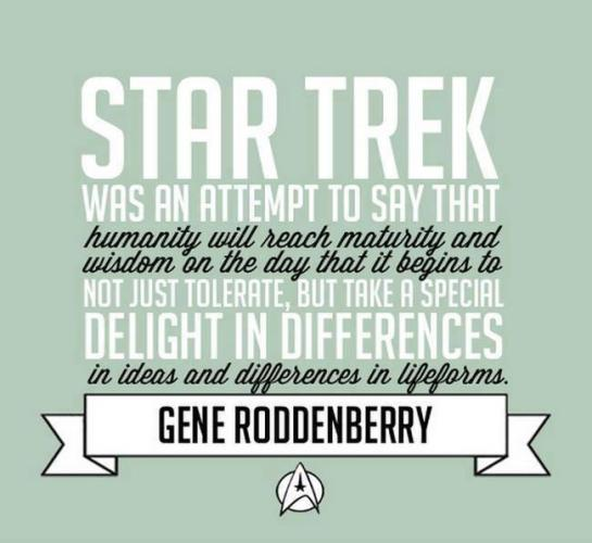 The meaning of Star Trek...