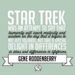 The meaning of Star Trek…