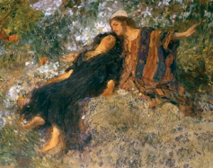 Does Song of Solomon argue with Genesis 1-3 about human sexuality ?