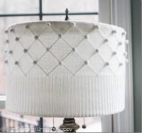 DIY Sweater Lampshade Tutorial by Unskinny Boppy (www ...