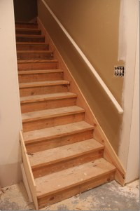 Our Basement Staircase Transformation Reveal! From ...