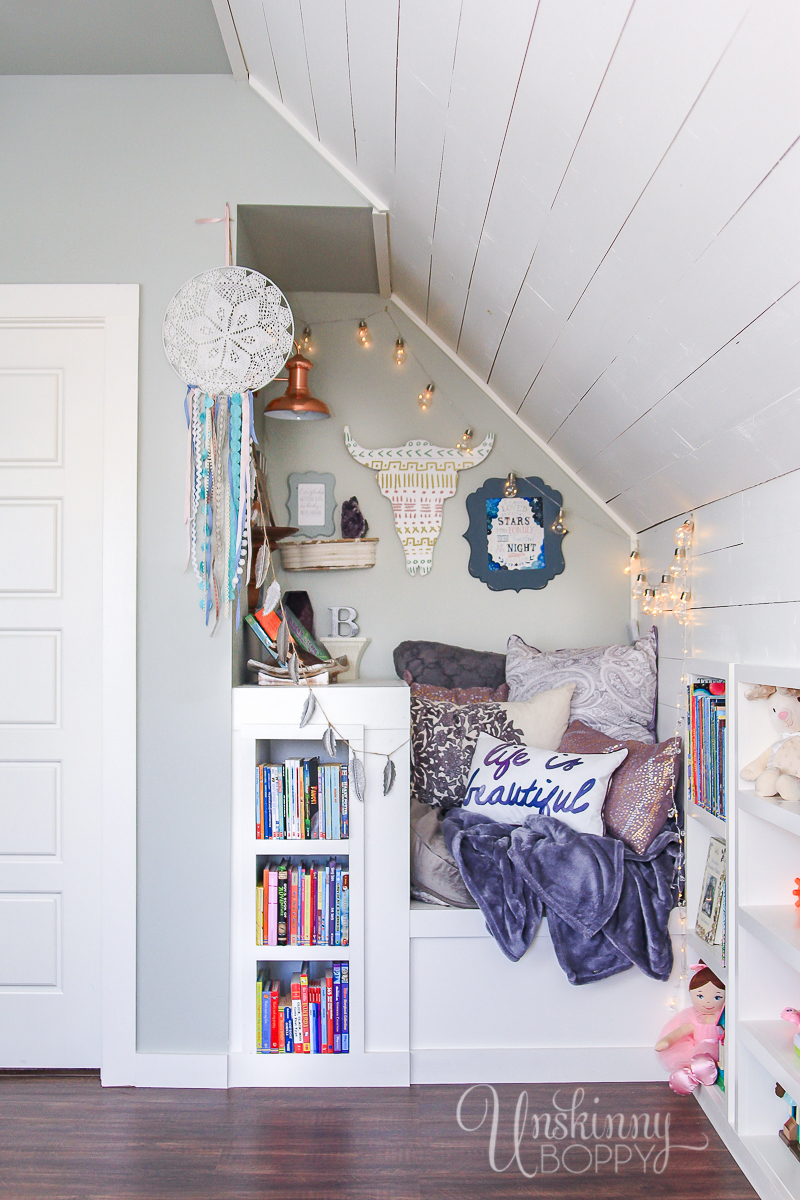 Built In Bed Nook The Attic Book Nook Unskinny Boppy