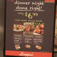 Longo's Week of Daily Dinner Deals