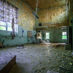 Inside the Abandoned J.N. Adams Memorial Hospital in Perrysburg, New York