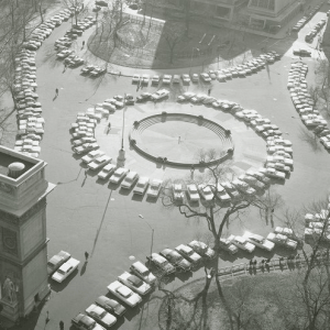 10 Forgotten Examples of NYC's Car-Centric History from Old Penn Station's Driveways to Washington Square Park's Parking