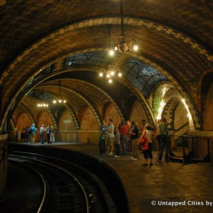 The Top 10 Secrets of NYC's Abandoned City Hall Subway Station