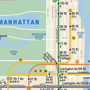 MTA Adds Second Avenue Subway Line to NYC Subway Map