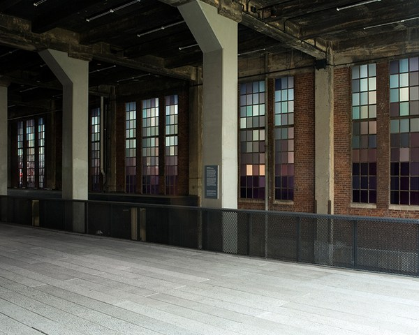 Spencer Finch-High Line-Chelsea Market Passage-NYC