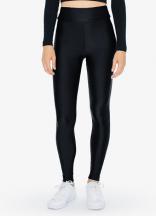 Nylon Tricot High-Waist Leggings