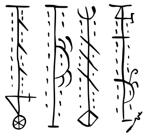 Staves against witchcraft.