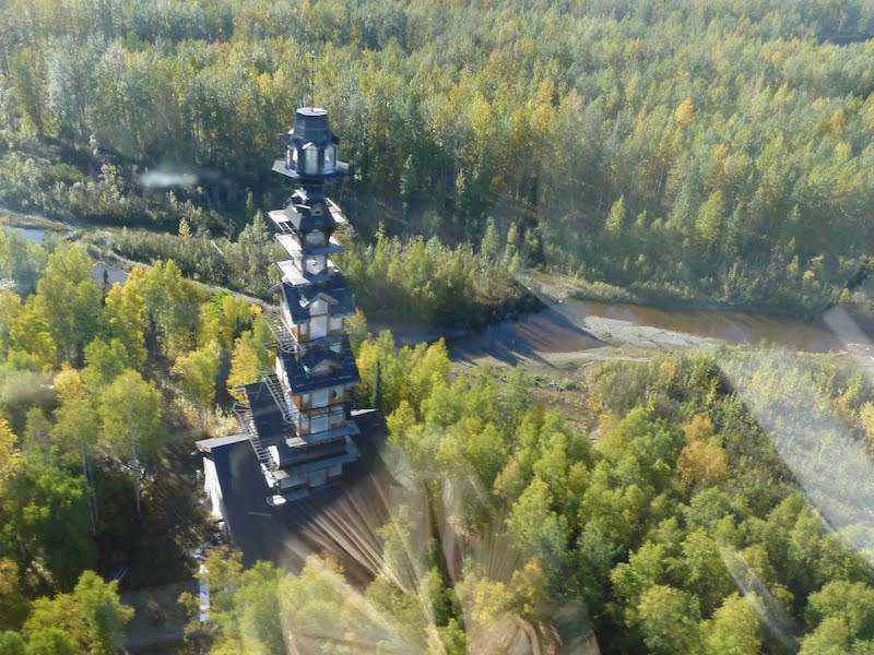 Whimsical Seuss House Alaska Unusual Places