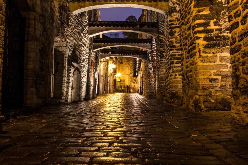 St.Katherine's passage, Photo by  christian zeiner/Flickr