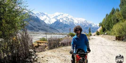 pamir,bike trip
