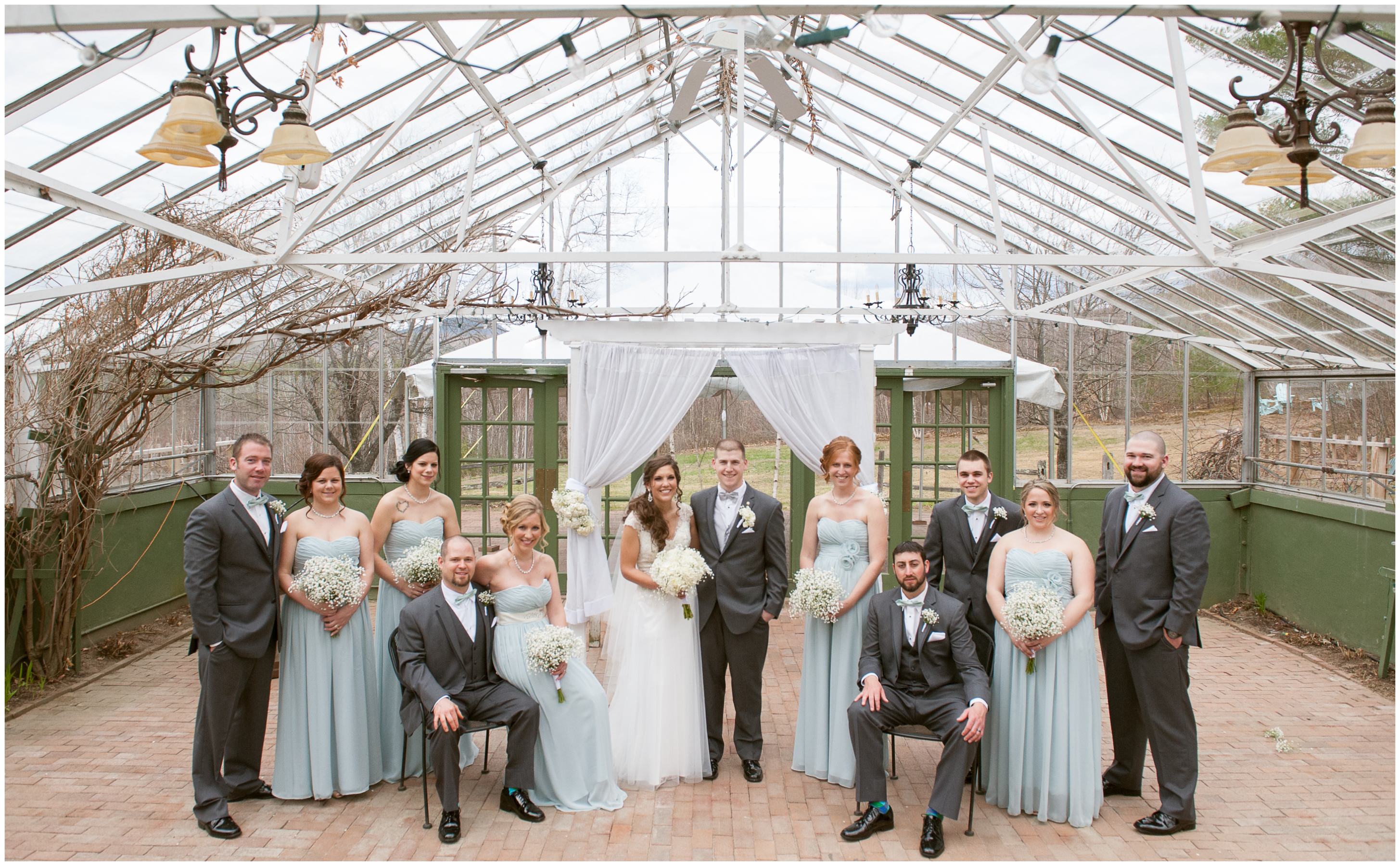 A Spring Greenhouse Wedding Unveiling Photography Blog