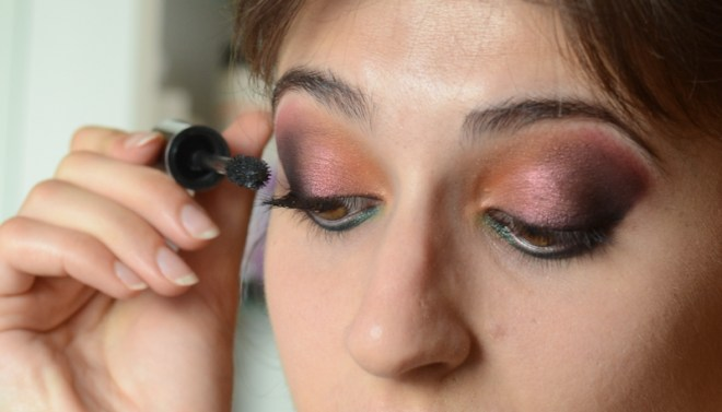 Rainbow eye makeup tutorial - step 10