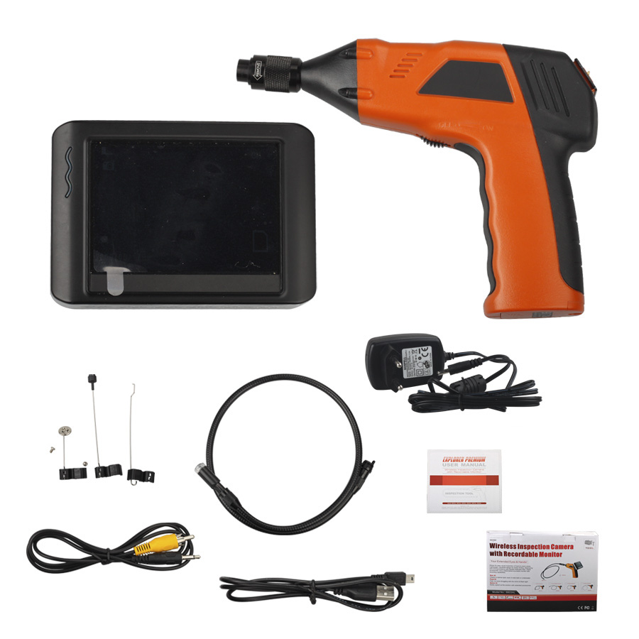 Wireless Inspection Camera Wireless Inspection Camera With 3 5inch Monitor Digital Inspection Videoscope
