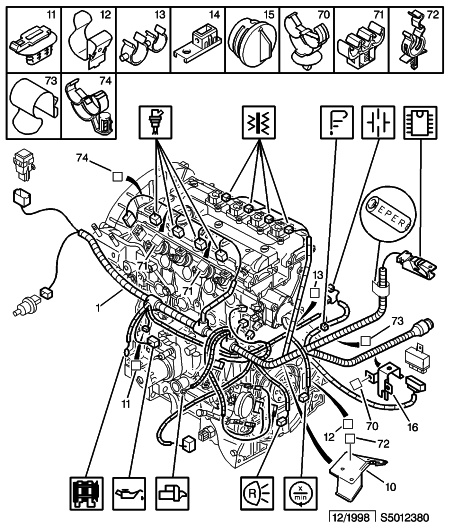 bmw schema moteur scenic 1