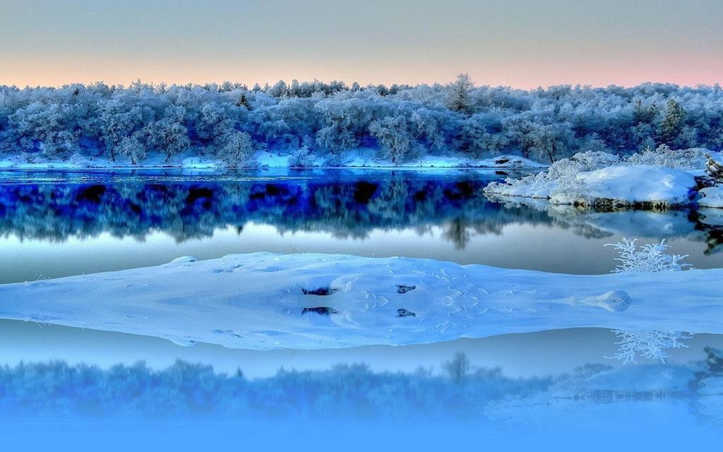 Snow Wallpaper Hd 唯美雪景意境图片 高清壁纸 风景图片 回车桌面