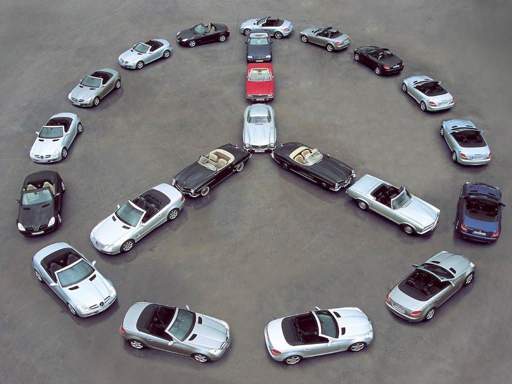 Car Logo Wallpapers For Mobile 奔驰logo标志 高清图片 汽车壁纸 回车桌面