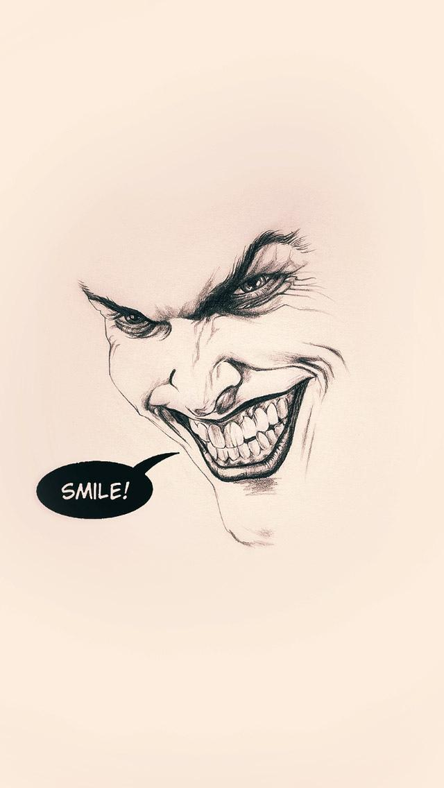 Quotes Wallpaper 1366x768 小丑之微笑 锁屏图片 高清手机壁纸 搞笑 回车桌面
