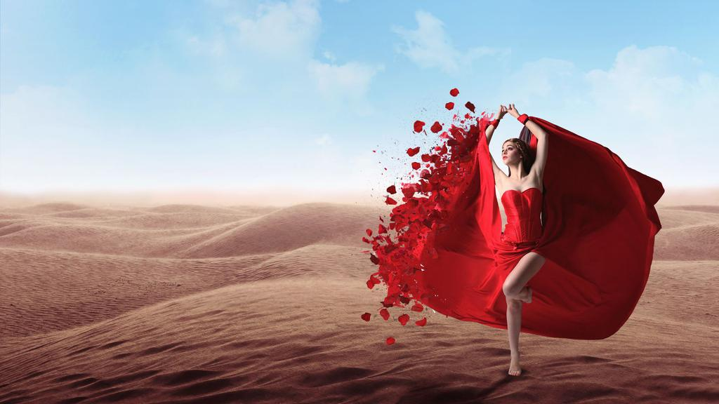Red Dress Girl Wallpaper 性感红衣美女 高清壁纸图片 欧美美女 回车桌面