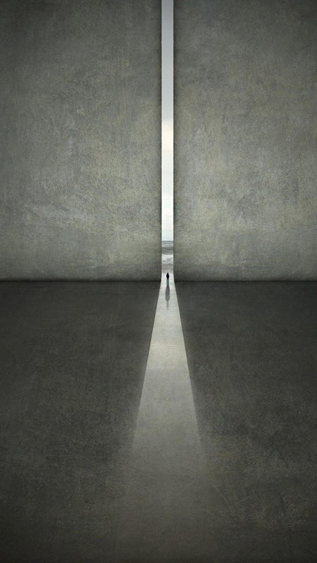 S4 Wallpaper Hd 灰色的墙 锁屏图片 高清手机壁纸 另类 回车桌面