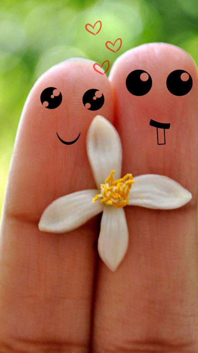 Cute Love Cartoon Couples Wallpapers 我们不离不弃 锁屏图片 高清手机壁纸 另类 回车桌面
