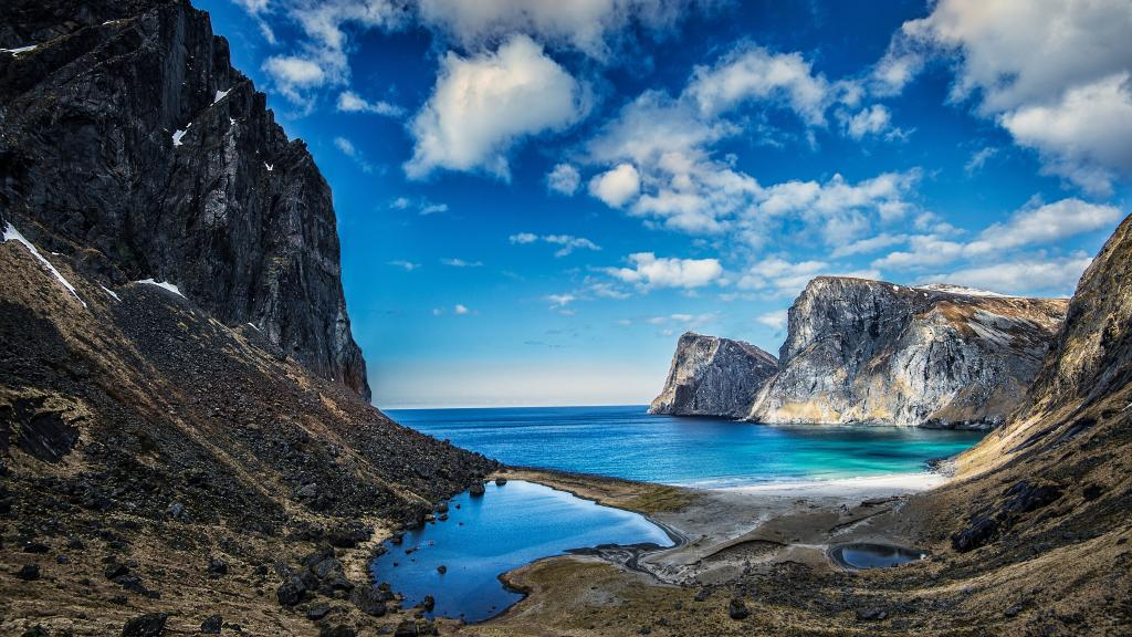 Windows 7 Original Wallpaper Hd 挪威罗弗敦群岛 高清壁纸 风景图片 回车桌面