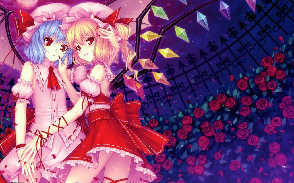 Anime Girls 2960x1440 Wallpaper 二次元唯美动漫美图 高清壁纸图片 动漫人物 回车桌面