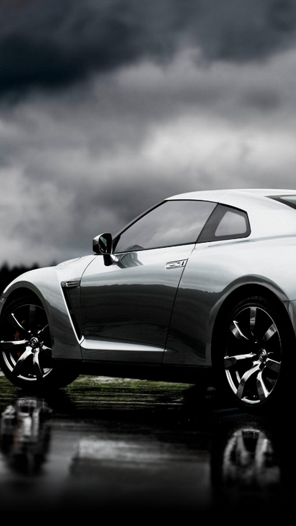 Images Of A Bentley Car Wallpaper 银色日产gt R 锁屏图片 高清手机壁纸 汽车 回车桌面