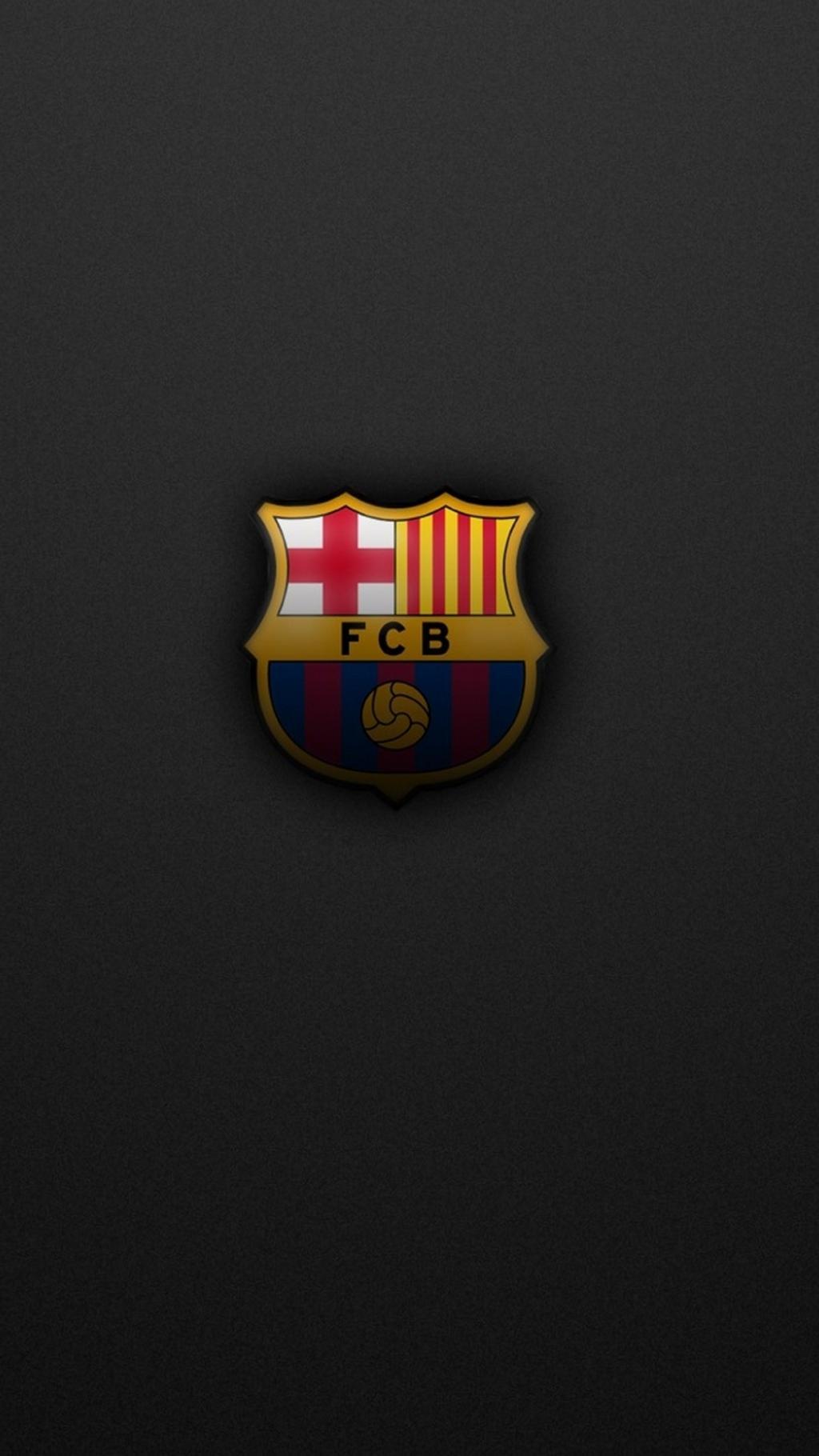 Messi Wallpaper Iphone 6 巴塞罗那标志黑色背景 锁屏图片 高清手机壁纸 体育 回车桌面