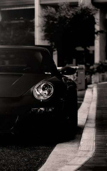 Black Car Lights Wallpaper 保时捷图片 保时捷图片大全 保时捷壁纸大全 回车桌面