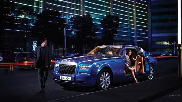 Hd Car Wallpapers 1600x1200 劳斯莱斯幻影 高清图片 汽车壁纸 回车桌面