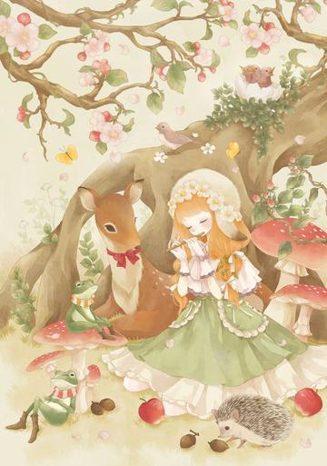 Anime Girls 2960x1440 Wallpaper 唯美二次元动漫女生插画 图片大全 高清 图库 回车桌面