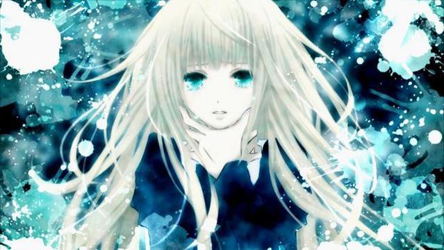 Anime Girls 2960x1440 Wallpaper 银色月光下可爱动漫女生 图片大全 高清 图库 回车桌面