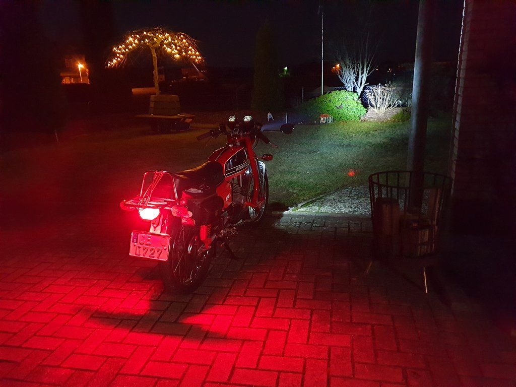 Led Licht Für Mofa Voll Led Am Moped 50er Forum