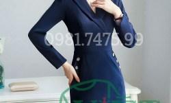 Mẫu đầm công sở thời trang, chuyên nghiệp tại Hà Nội