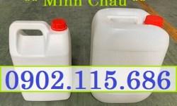 Can nhựa 5l, can đựng hóa chất, can đựng hóa chất 5l, can 5l đựng hóa chất, can 5l có nắp chống tràn, can 5l có khóa niêm phong,