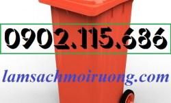 Thùng rác 240l nắp hở, thùng rác nhựa 240 lít, thùng rác 240l giá rẻ, thùng rác 240l có bánh xe, thùng rác công cộng 240 lít,