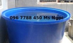 Bồn nhựa tròn 1500 lít chứa nước Lhe 0967788450 Ngọc