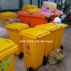 Thùng rác gia đình 240 lít Lhe 0967788450 Ngọc