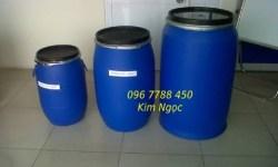 Thùng phuy nhựa các loại đựng hóa chất, nước sạch Lhe 0967788450 Ngọc