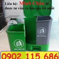 Thùng phân loại rác thải vô cơ hữu cơ, thùng rác 2 ngăn phân loại rác, thùng rác trường học, thùng rác văn phòng, thùng phân loại rác vô cơ, thùng phân loại rác hữu cơ,