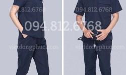 Mẫu quần áo điều dưỡng kiểu dáng đẹp và chất lượng đạt chuẩn