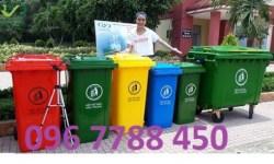 Thùng rác nhựa 120lit/240lit/660lit/100lit  Lhe 0967788450