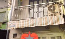 Nhà bán hẻm Cô Giang,P.Cô Giang,Q1 khoảng 40m, trệt,lầu,sổ hồng,giá 2,3tỷ